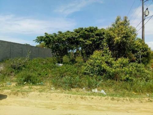 Terreno De Esquina Santa Cruz, Em Itanhaém, Ref. 5080 M H