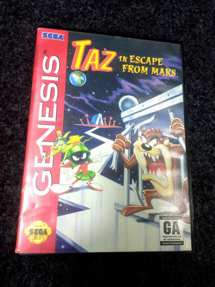 Taz In Escape From Mars Original Para Mega Drive