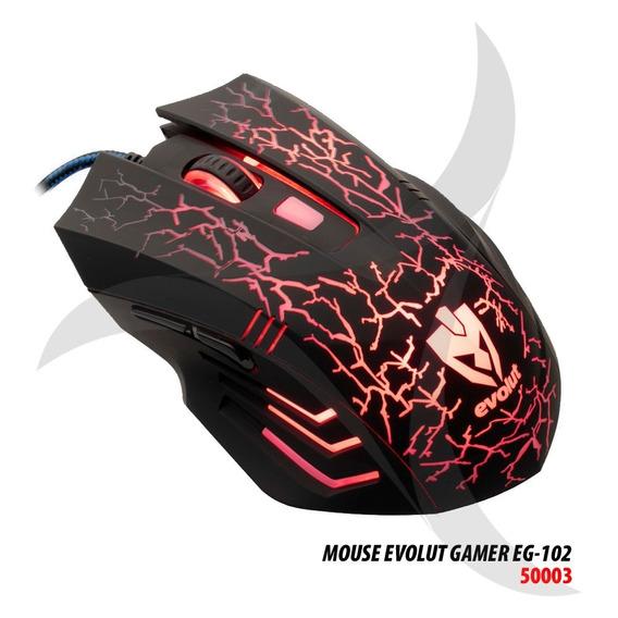 Mouse Gamer Evolut Eg-102 Usb 2400 Dpi