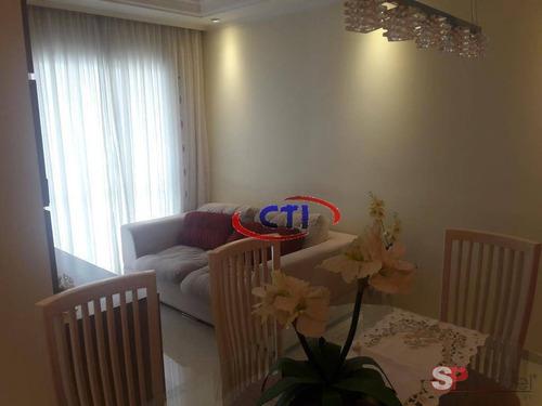Apartamento À Venda, 64 M² Por R$ 420.000,00 - Vila Caminho Do Mar - São Bernardo Do Campo/sp - Ap3363