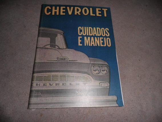 Chevrolet Brasil 63 Manual De Instrução