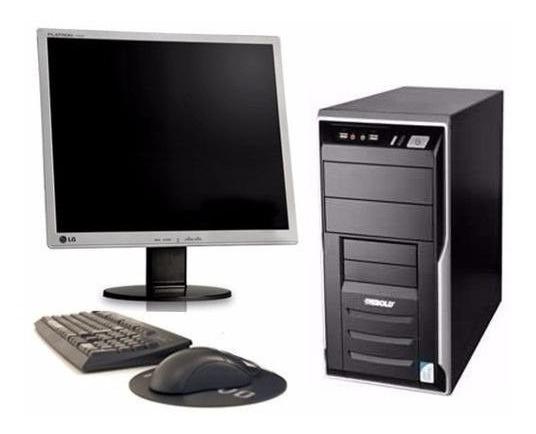 Cpu Completo Core 2 Duo 4 Gb Hd 80 Semi Novo Com Garantia