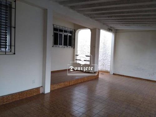 Casa À Venda, 237 M² Por R$ 999.000,00 - Paraíso - Santo André/sp - Ca0837
