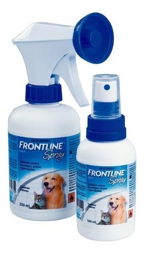 Frontline Spray 250ml Perro Gato Antiparasitario Externo Tps