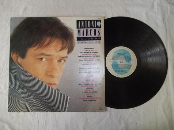 Lp Vinil - Antonio Marcos - Todos Os Caminhos
