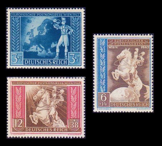 Serie Completa Alemanha Nazista Terceiro Reich 1942 #820