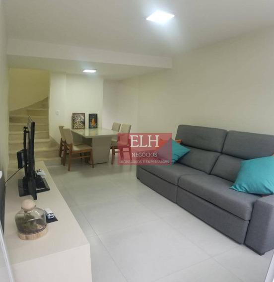 Oportunidade Brooklin! Sobrado Com 2 Dormitórios À Venda, 113 M² Por R$ 660.000 - Brooklin Paulista - São Paulo/sp - So0035