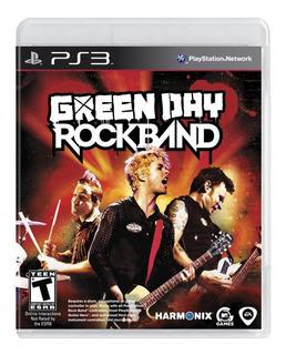 Green Day: Rock Band Playstation 3 Fisico