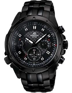 Reloj Casio® Edifice Ef-535bk Cronometro Taquimetro