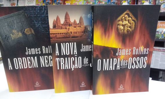 Livro Trilogia Força Sigma - 3 Vols James Rollins
