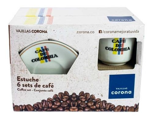Pocillos Café De Colombia 8 Piezas 240cc