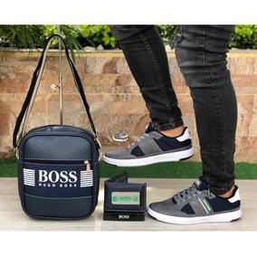 Zapatos Deportivos Para Caballero (combo 3 Pzas)