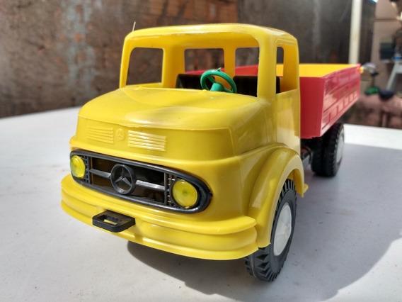 Caminhão Mercedes Benz 1113 Miniatura Anos 80