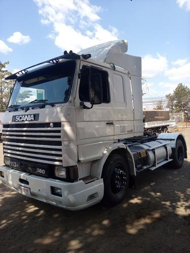 Imagem 1 de 15 de Scania R 113, 4x2, 360 Cv, 1993/1994, Branco, Frontal