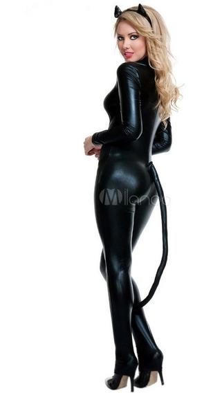 Disfraz Gatubela Diablita Sexy Catsuit Hallowen Envio