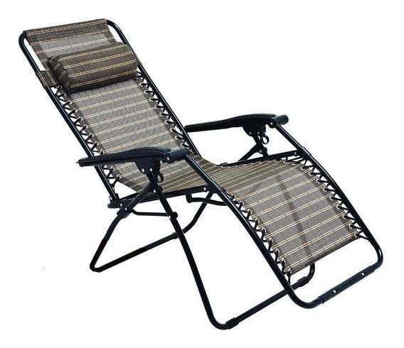 Cadeira Sevilha Reclinável Praia Piscina 21 Posições Mor
