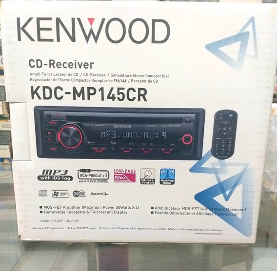Classico Cd Player Kenwood Kdc-mp145cr