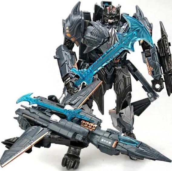 Boneco Transformers Autobots Robo Megatron Jato