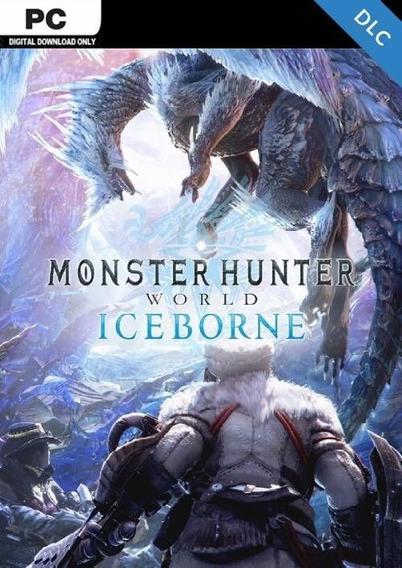 Monster Hunter World Iceborne Pc Steam Key Código 15 Dígitos