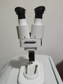 Microscópio Binocular Aomekie 20x Para Eletrônica Com Led