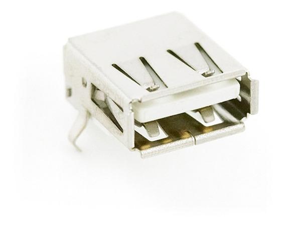 Conector Usb Hembra Tipo A - Montaje Pcb
