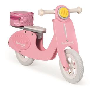 Bicicleta De Madera Janod Rosada