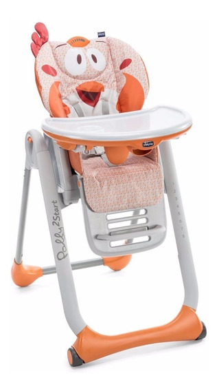 Silla De Comer Bebe Chicco Polly 2 Start Reclinable Plegable