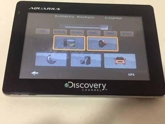 Navegador Gps Automotivo Discovery Aquarius Gps 4.3 Leia