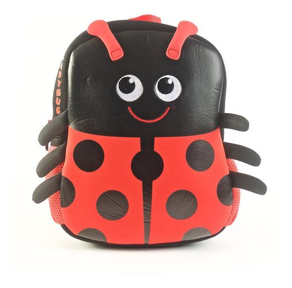 Mochila Kooshi Neoprene Lady Bug 10