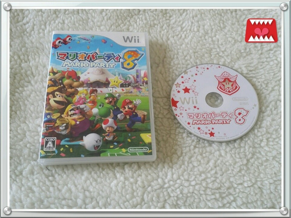 Jogo Mario Party 8 Nintendo Wii Japonês (leia!)