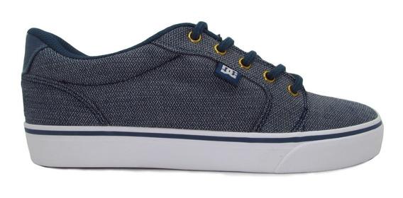 Tenis Dc Shoes Anvil Tx Se Adys300036 Vgo Vintage Indigo