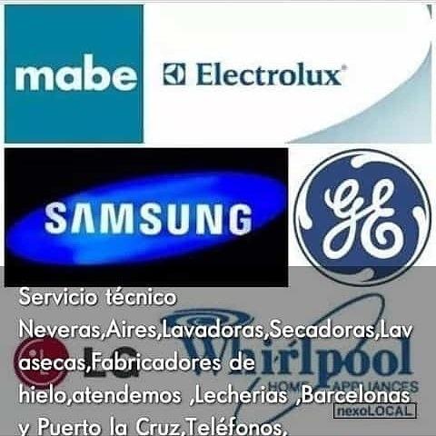Servicio T.  Neveras  Aires, Lavadoras Fabricadores De Hielo