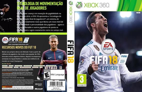 Fifa 2018 - Xbox360 - Destravado Lt 3.0