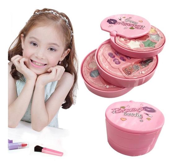 Set De Maquillaje Esmaltes Uñas Pinturas Juguete Para Nenas