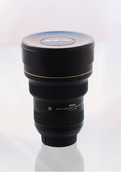 Lente Zoom Afs Nikon 14-24mm F/2.8-ed Nano Crystal Fx