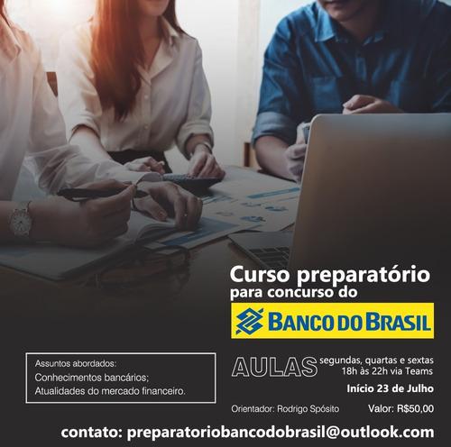 Imagem 1 de 1 de Curso Preparatorio Para O Concurso Banco Do Brasil
