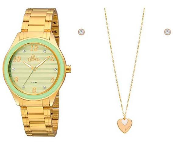 Relógio Allora Feminino Al2035fie/k4v