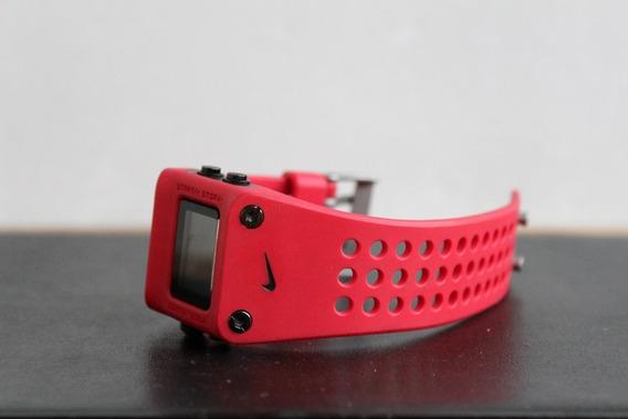 Relógio Nike Wc0045 Original Pulso Vermelho - Nunca Usado