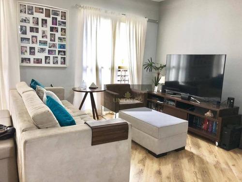 Apartamento Com 3 Dormitórios À Venda, 103 M² Por R$ 650.000,00 - Santo Amaro - São Paulo/sp - Ap41130