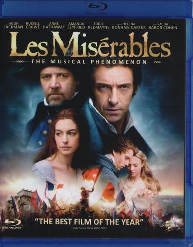 Los Miserables Hugh Jackman Pelicula Original Bluray