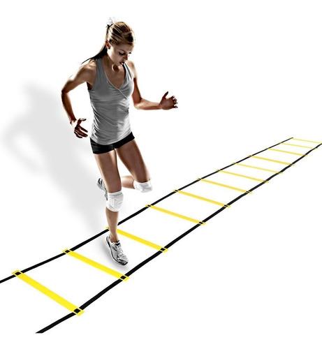 Escalera De Agilidad Y Coordinación 12 Pasos Importado