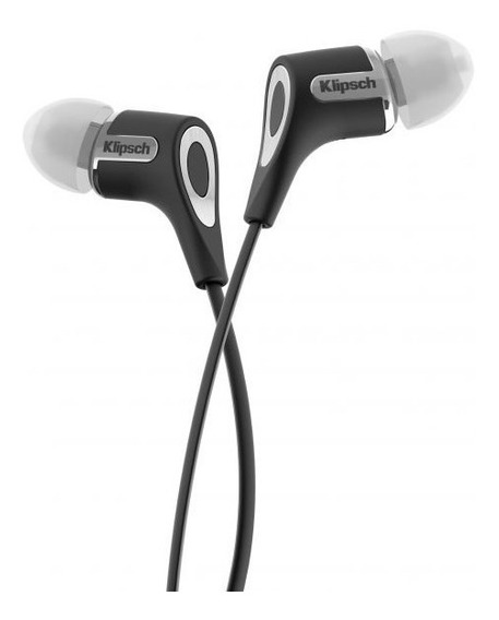 Fone De Ouvido Klipsch R6 Black Headphone, Cor Preto