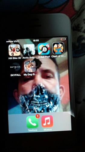 Imagem 1 de 5 de Vende-se Um iPhone Da Apple Ou Troca Por Moto G2 Valor Da Ve