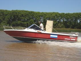Lancha Bahamas 700 Offshore Con Falcon Sprint P/volvo 280