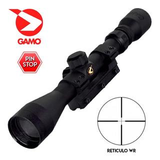 Mira Telescopica Gamo 3-9x40 Wr Zoom Montaje Aire Comprimido