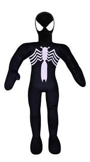 Muñeco Soft Spiderman Negro Con Sonido New Toys