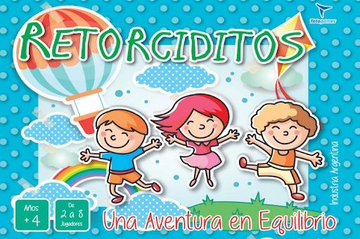 Retorciditos - Juego De Mesa - Toto Games