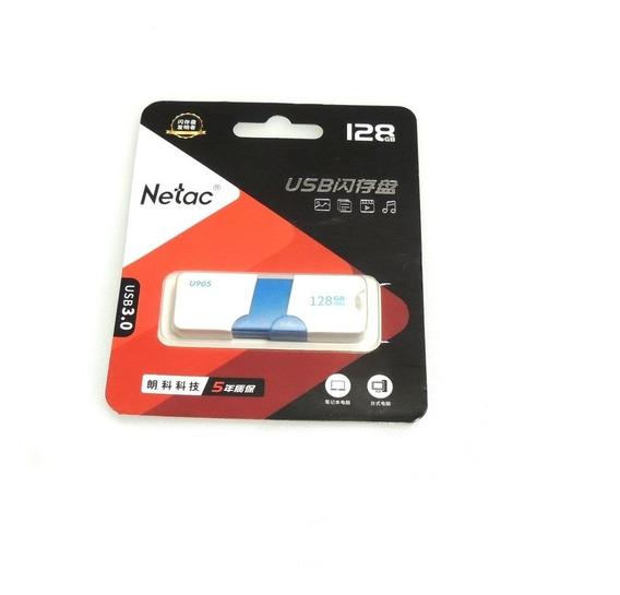Pen Drive 128 Gb Netac Usb 3.0 Pen Drive Com Nf