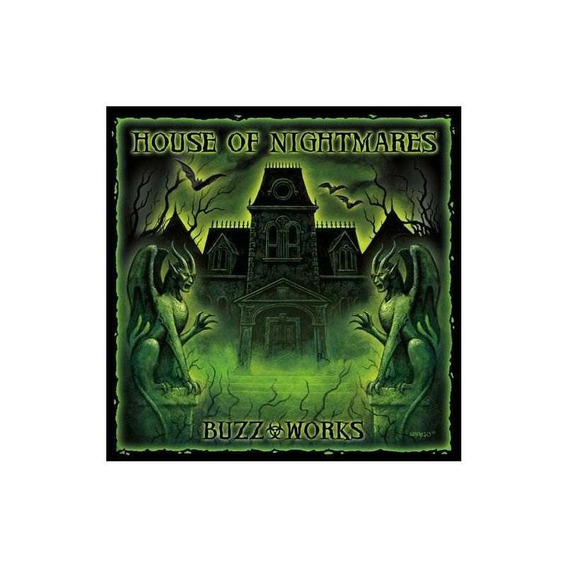 Buzz-works House Of Nightmares Usa Import Cd Nuevo