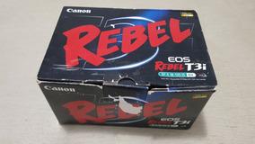 Câmera Canon T3i + Lente 18-135 - 2.800 Cliques